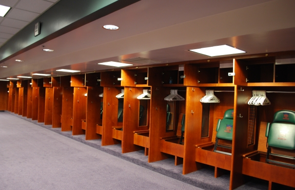 Visitor's Locker Room at Coors Field Openhouse Gallery
